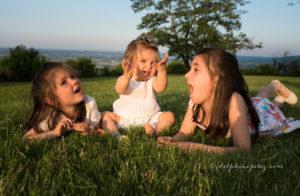 3 Soeurs lors d'une séance photo à Marcy dans le Beaujolais