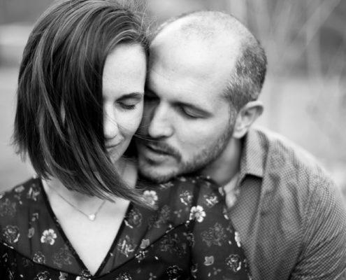 photo couple Delphine Perez