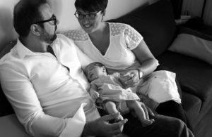 Photographe naissance lifestyle Villefranche sur Saone