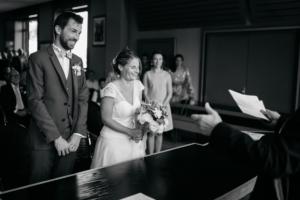 Reportage photo mariage, union à la mairie