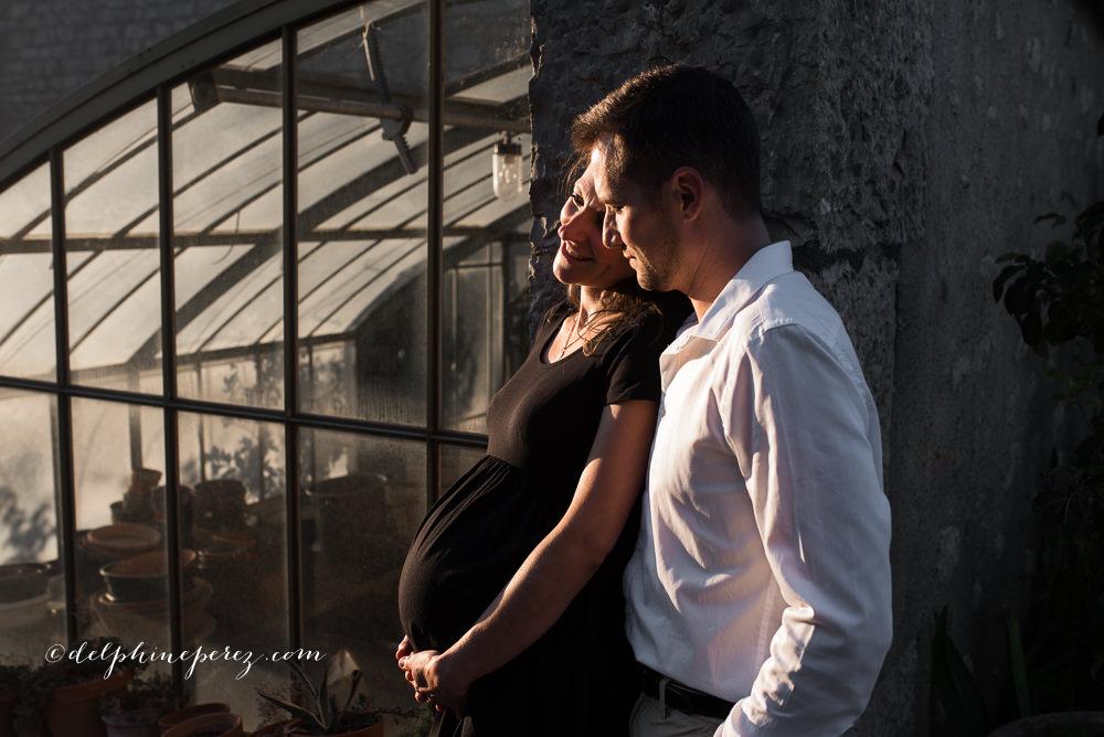 Seance grossesse future maman St Bernard dans l'Ain par Delphine Perez