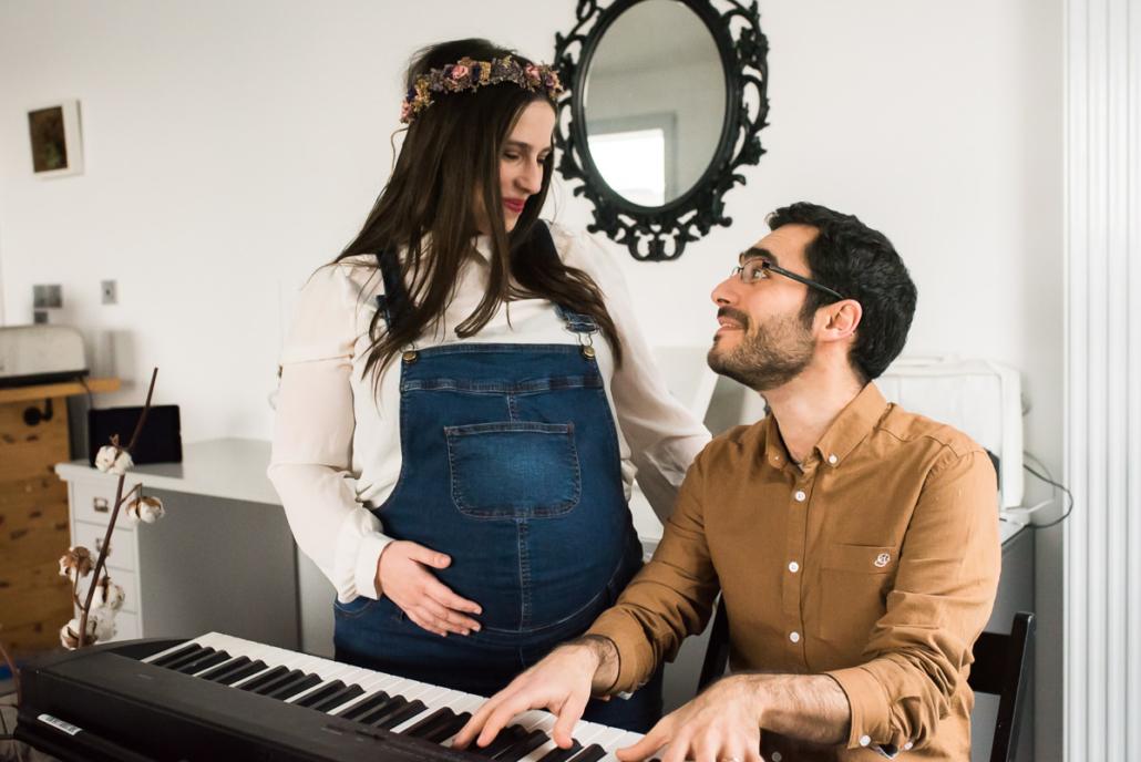 photos grossesse à Lyon par Delphine Perez Photographe maternité