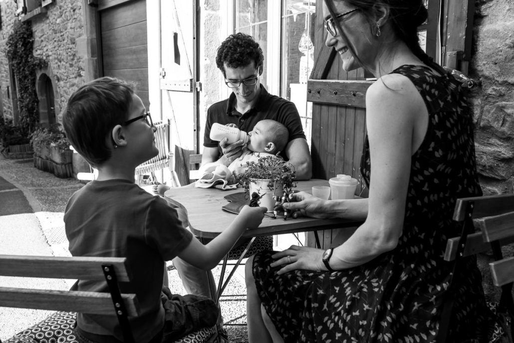 seance photo famille Oingt