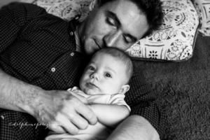 Tendresse père fils avec Delphine Perez Photographie.