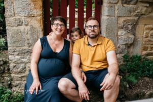Couple et grossesse dans le Beaujolais
