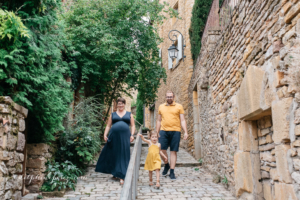 Photographe grossesse famille dans la Beaujolais
