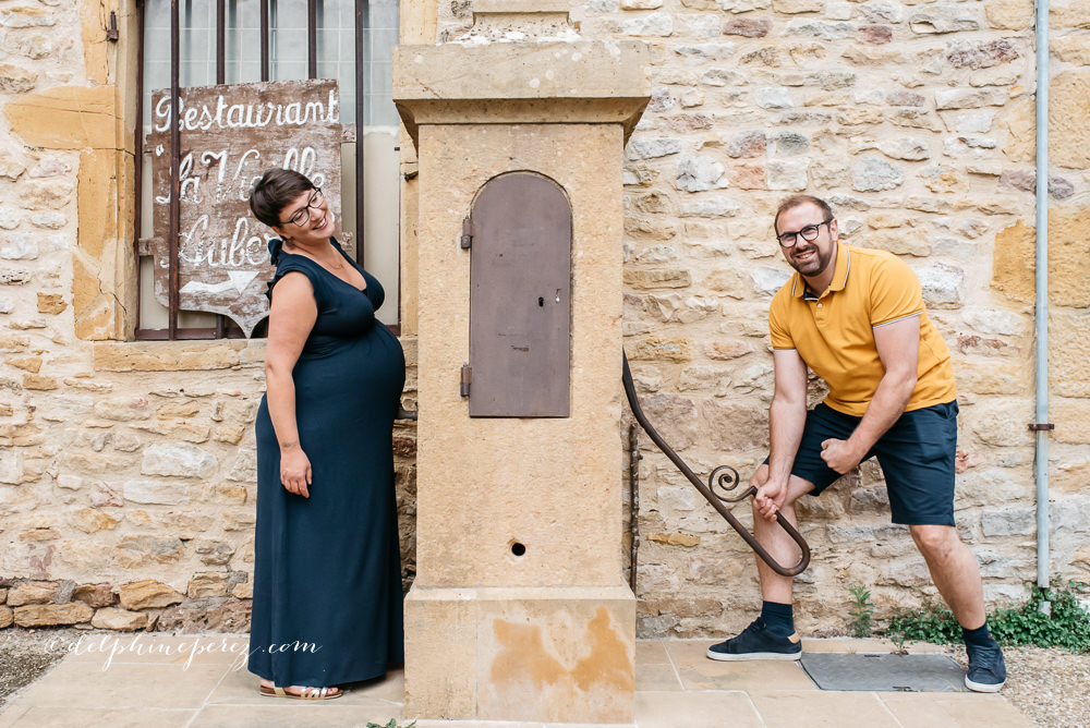 Couple, séance shooting en Beaujolais
