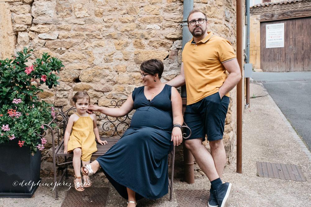Prise de vue famille Beaujolais et région lyonnaise