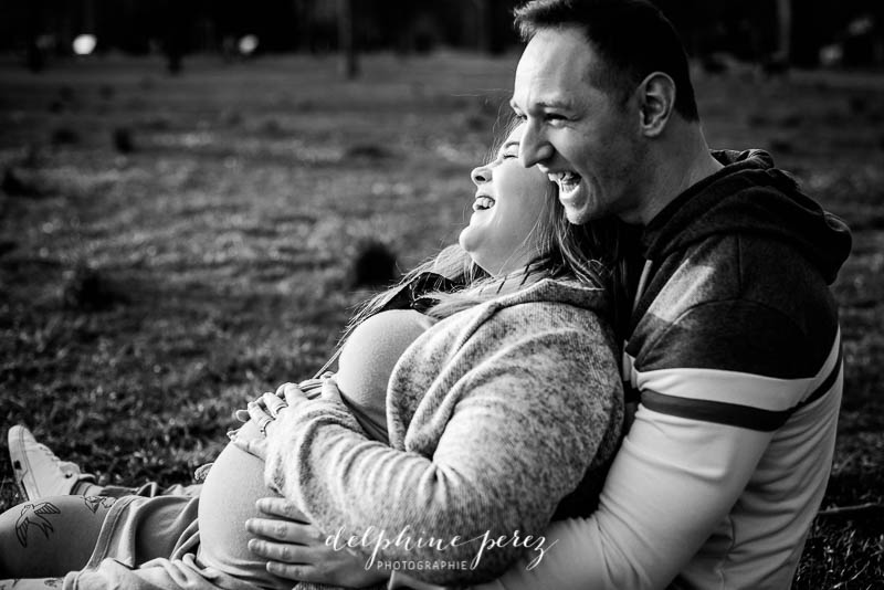 photographe couple et grossesse